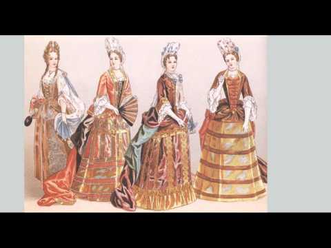 Historia de la Vestimenta/ ÉpocaModerna