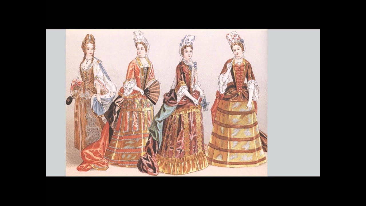Historia de la Vestimenta/ ÉpocaModerna - YouTube