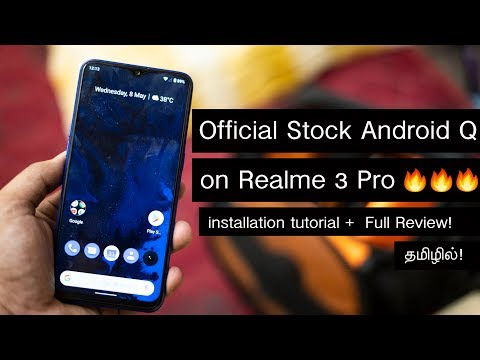 Official Stock Android Q(10 0) Update for Realme 3 Pro