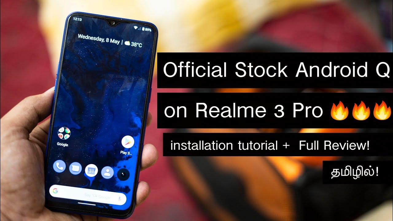 Official Stock Android Q(10 0) Update for Realme 3 Pro🔥🔥🔥 - Installation  Tutorial + Review!