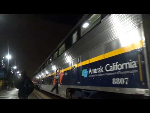 Railfraning at Berkeley Amtrak Station in CA