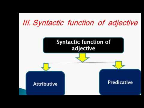 attributives