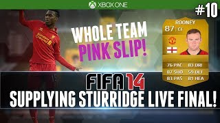 NEXT GEN FIFA 14 | 175K TEAM PINK SLIPS - LIVE GAME! | SUPPLYING STURRIDGE FINALE! (Ultimate Team) thumbnail