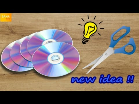 how-to-reuse-old-cd-creatively-|-best-from-waste-|-reuse-ideas