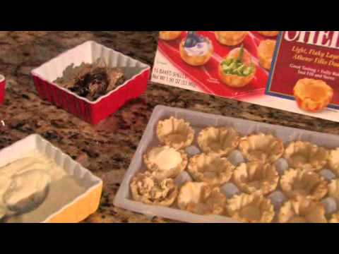 Appetizers Using Phyllo Cups