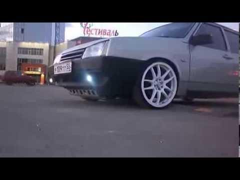 Дрифт на ВАЗ 2109  Тюнинг авто и тазы Валят