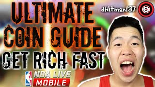 Ultimate Nba Live Mobile Coin Guide - Make 300,000 coins a day!