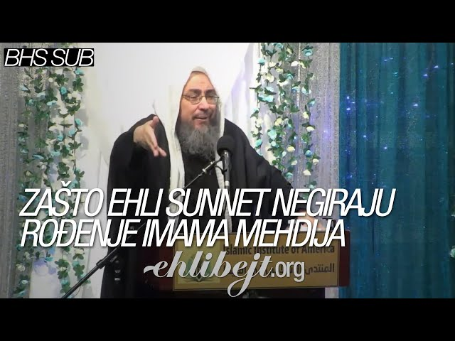 Zašto Ehli sunnet negira rođenje Imama Mehdija – šejh Tariq Jusuf