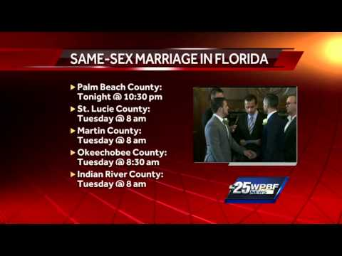 Reaction erupts as same-sex marriage becomes legal in Miami