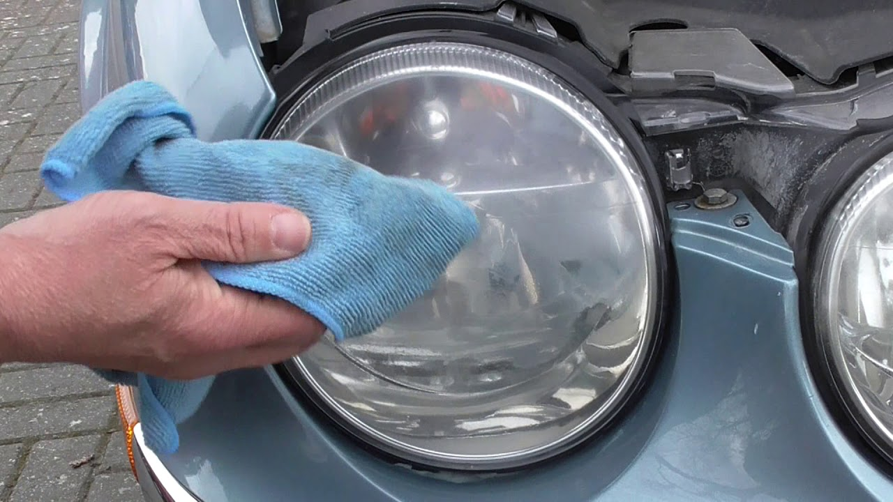 How to Restore Headlights with a Rain X Kit
