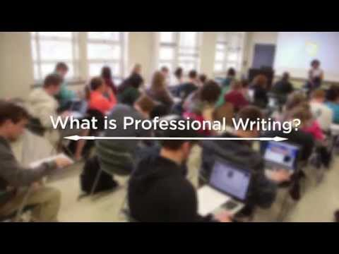 The Professional Writing Major @ Michigan State