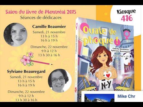 Salon du livre de montr al 2015 et ouate de phoque 6 slmado youtube - Salon du livre brive 2015 ...