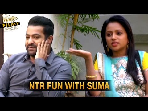 NTR Fun with Anchor Suma and Jagapathi...