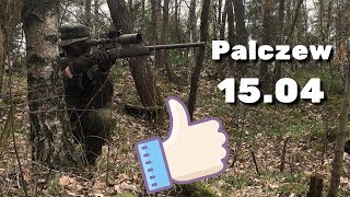 Airsoft Sniper Gameplay - Pałczew 15.04 - Kaczmysz