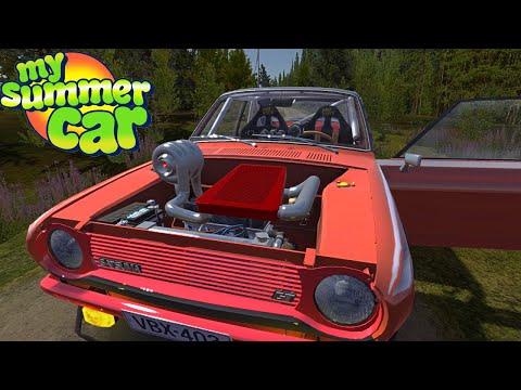 SATSUMA TURBOCHARGER - 300 KM/H? EASILY - My Summer Car #192 (Mod) | Radex