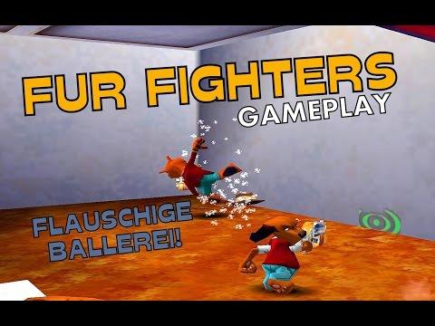 FUR FIGHTERS [PC] Gameplay [GERMAN] - Flauschige Ballerei!
