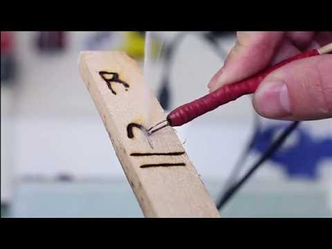 How to make a mini pyrography tool
