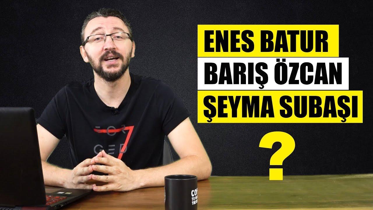 SORU CEVAP #2 Enes Batur, Şeyma Subaşı ve Barış Özcan