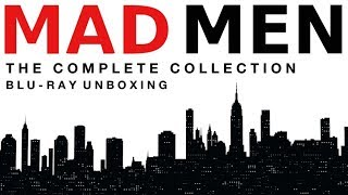 Mad Men Complete Series Blu-ray Unboxing! Amazon UK Exclusive!