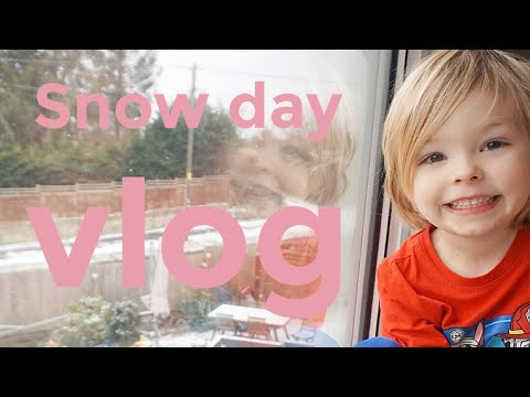 RAW DAY IN THE LIFE | MUM OF TWO | SNOW DAY