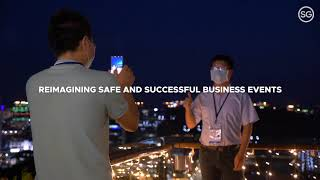 A hybrid approach to safe and successful business events