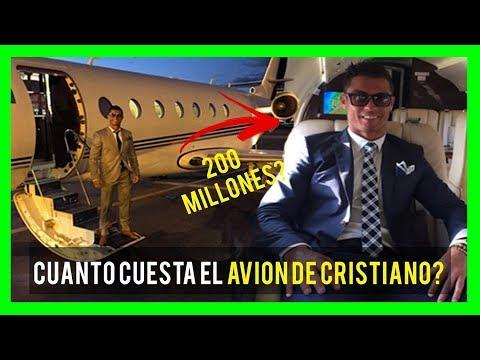 FUTBOLISTAS CON LOS AVIONES PRIVADOS MAS CAROS 2018 (CRISTIANO,MESSI,NEYMAR,ZLATAN,RONALDIÑO)