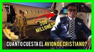 FUTBOLISTAS CON LOS AVIONES PRIVADOS MAS CAROS 2018 (CRISTIA...