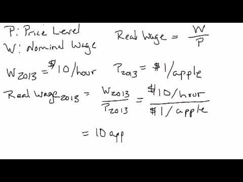 Intuitive Explanation for Nominal and Real Variables