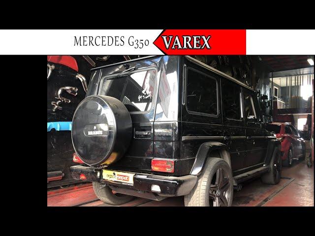 MERCEDES G350 3.0 V6 DİZEL KUMANDALI VAREX EGZOZ SESİ