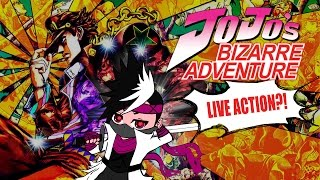 JoJo's Not Nearly Bizarre Enough Adventure... Live Action Discussion!