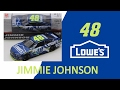 NASCAR DieCast Review Jimmie Johnson Lowes 2017 1:64