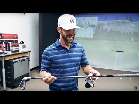COACH GETS FITTED FOR FUJIKURA GRAPHITE IRON SHAFTS!