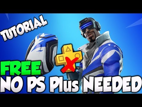 FORTNITE BLUE STRIKER SKIN FREE WITHOUT PS PLUS TUTORIAL! - GET PS PLUS FOR FREE!