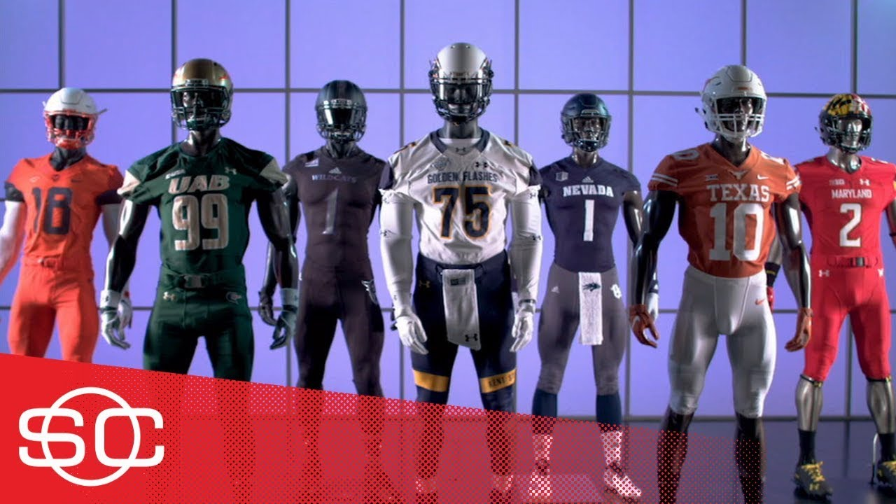 50cfbf524 Gear Up: 2018 Week 3 of college football uniforms: Texas, Syracuse and more  | SportsCenter | ESPN