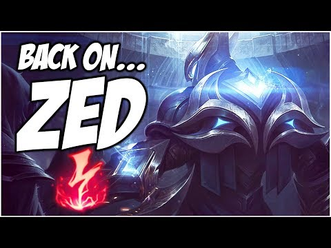 BACK ON... ZED - PreSeason 8 | League of Legends