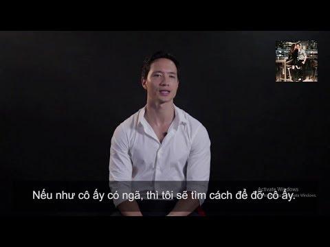 """Phỏng vấn Kim Lý về tình yêu dành cho Hồ Ngọc Hà :""""Cô ấy ngã, tôi sẽ ngã cùng"""""""