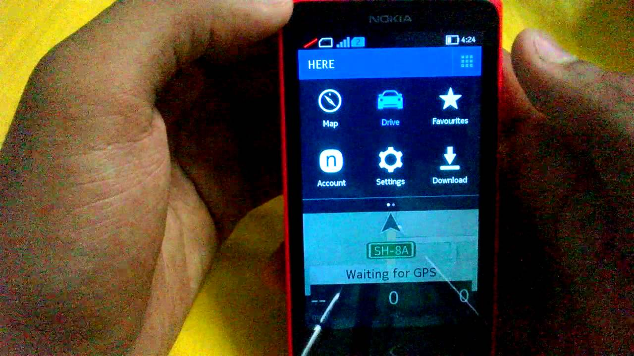 Nokia X: Here Maps (Best Navigation app on Android)