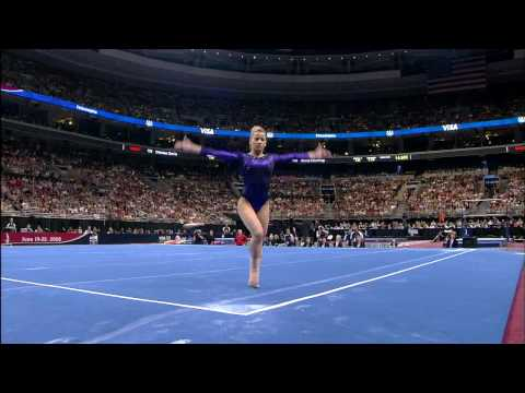 Alicia Sacramone - Floor Exercise - 2008 Olympic Trials - Day 2