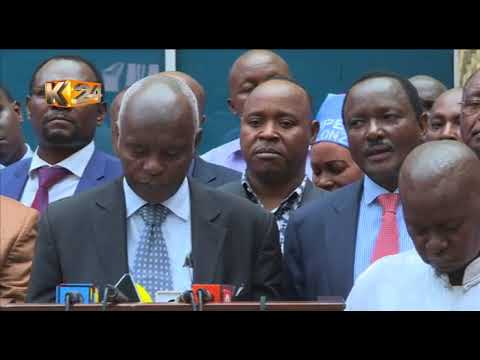 Opposition to push for a referendum if Jubilee rejects dialogue