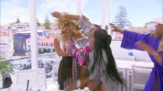 Basketball Wives LA Season 5 SuperTrailer Fights (Tami vs. Duffey Round 1 & 2)