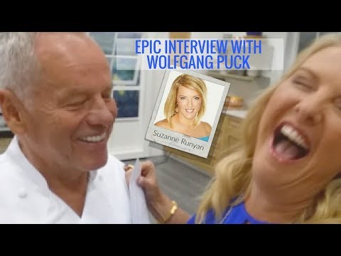 Epic Interview with Chef Wolfgang Puck