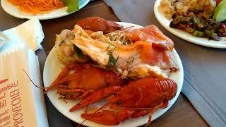 Наш ужин в отеле Asia beach resort Турция Алания 2020