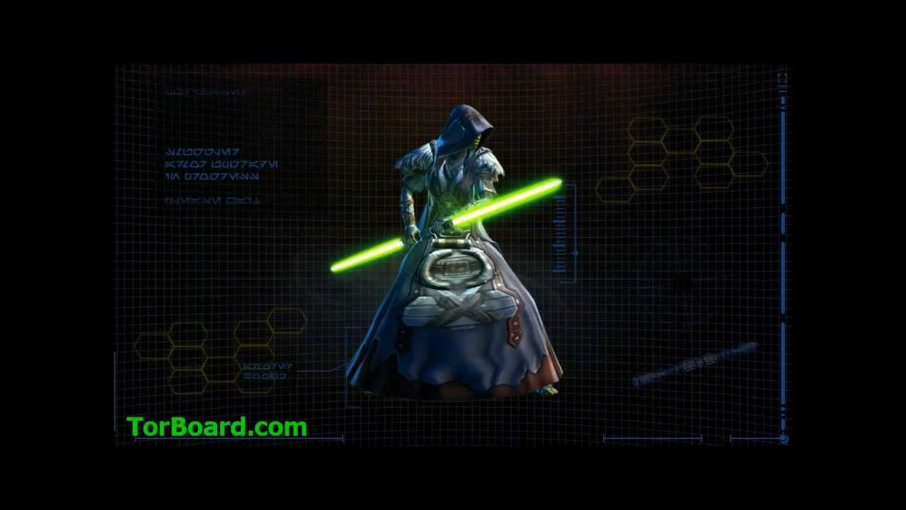 Jedi consular armor progression swtor youtube for Who is a consular