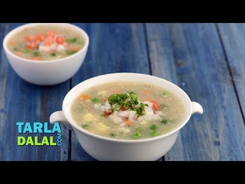 Jowar and Vegetable Porridge by Tarla Dalal