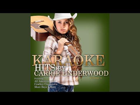 Look At Me (In The Style Of Carrie Underwood) (Karaoke Version)