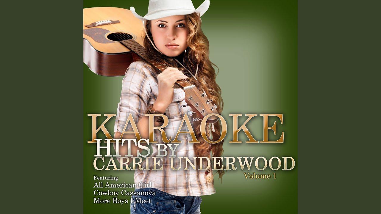 Look At me (In the Style of Carrie Underwood) (Karaoke Version