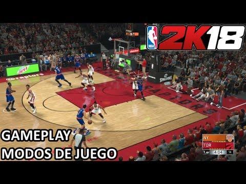 NBA 2K18 (Xbox One) - Modos de juego y toma de contacto || Gameplay en Español