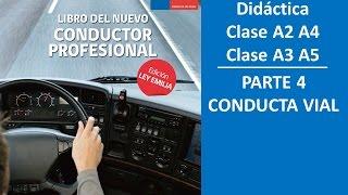 Cuestionario CONASET Conducta Vial Clase A2 A3 A4 A5