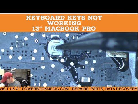 "Keyboard Keys not Working on Macbook Pro 13"" Repair -  Board 820-3115"