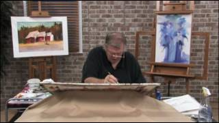 Groves of Trees in Watercolors With Chuck McLachlan